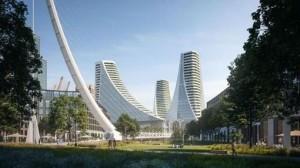 Maqueta del proyecto de Calatrava