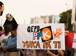 Protesta en Perú contra el presidente PPK | Fuente: Twitter @tianattt