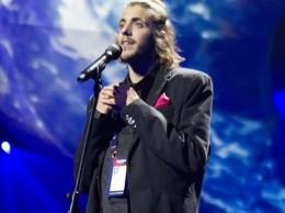 Salvador Sobral, durante uno de los ensayos previos a la gala final de Eurovisión 2017. Fuente: Eurovisionary