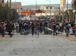 Manifestación Túnez