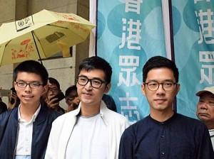 Joshua Wong nominado al Nobel de la Paz