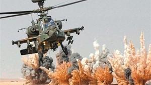 Helicóptero militar Egipto
