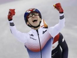 Lim Hyo-jun celebra su victoria